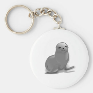 Baby Seal Keychain