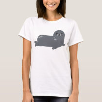 baby seal ocean animals tshirt