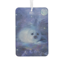 Baby Seal on Ice - Beautiful Seascape Car Air Freshener