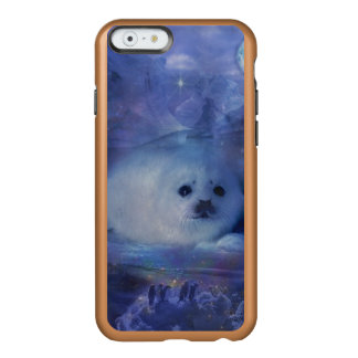 Baby Seal on Ice - Beautiful Seascape Incipio Feather Shine iPhone 6 Case