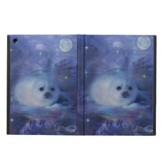 Baby Seal on Ice - Beautiful Seascape iPad Air Case