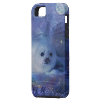 Baby Seal on Ice - Beautiful Seascape iPhone SE/5/5s Case