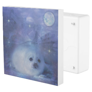 Baby Seal on Ice - Beautiful Seascape Outlet Cover
