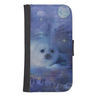 Baby Seal on Ice - Beautiful Seascape Phone Wallet
