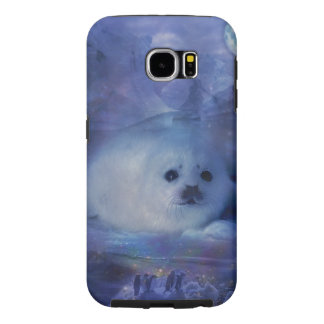 Baby Seal on Ice - Beautiful Seascape Samsung Galaxy S6 Case