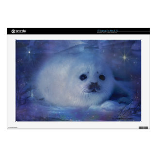 """Baby Seal on Ice - Beautiful Seascape Skins For 17"""" Laptops"""
