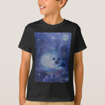 Baby Seal on Ice - Beautiful Seascape T-Shirt