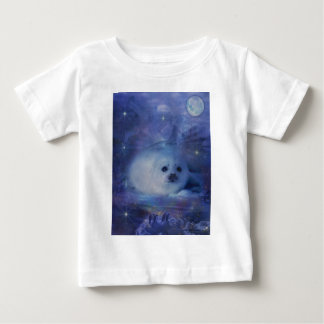 Baby Seal on Ice - Beautiful Seascape Tee Shirt