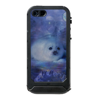 Baby Seal on Ice - Beautiful Seascape Waterproof Case For iPhone SE/5/5s