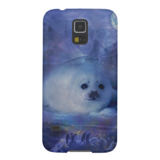 Baby Seal on Ice Galaxy S5 Case