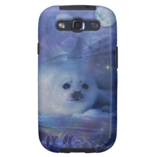 Baby Seal on Ice Galaxy SIII Cover