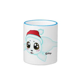 Baby Seal Ringer Mug