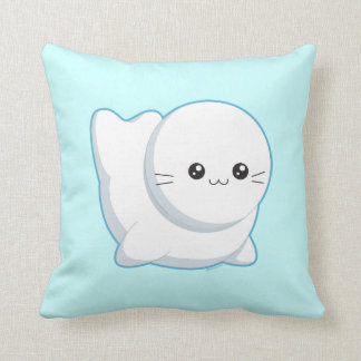 Baby Seal Throw Pillow