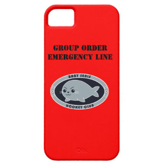 Baby Seals Group Order iPhone SE/5/5s Case