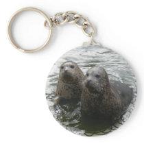Baby Seals Keychain