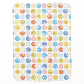 Baby Sesame Street Character Shape Pattern Receiving Blankets