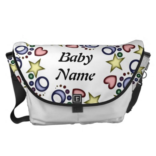 Baby Shapes Personalized Diaper Bag Designer