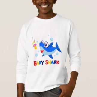 Baby Shark Kids' Basic Long Sleeve T-Shirt