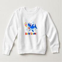 Baby Shark Toddler Fleece Sweatshirt