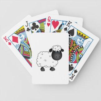Baby Sheep For Ewe Bicycle Playing Cards