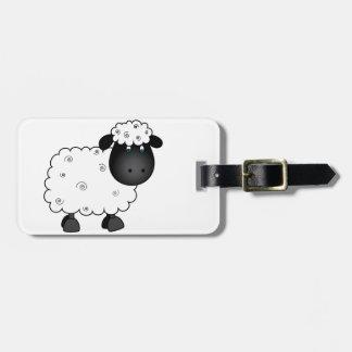 Baby Sheep For Ewe Luggage Tag