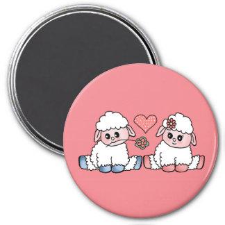 baby sheep magnet