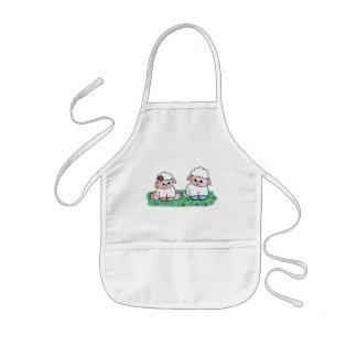 baby sheeps kids' apron