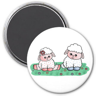 baby sheeps magnet