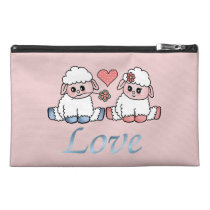 baby sheeps travel accessory bag