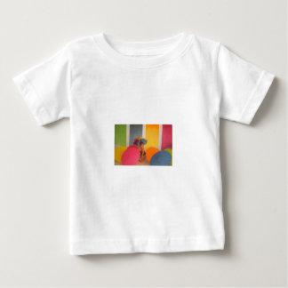 baby shirt rainbow umbrella girl