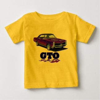 """Baby Shirt with """"Pontiac GTO"""" design"""