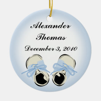Baby Shoes Photo Ornament