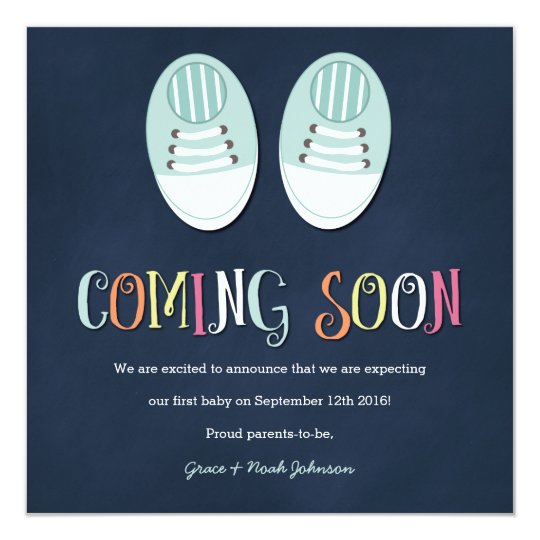 Pregnancy Invitations Announcements – Create Your Own Baby Announcement