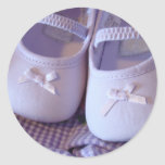 Baby Shoes stickers Lavender Baby booties