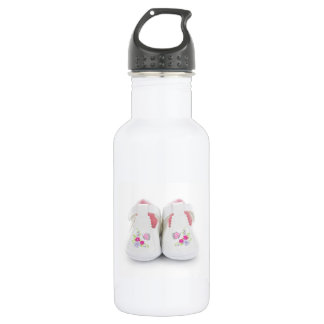 Baby shoes water bottle