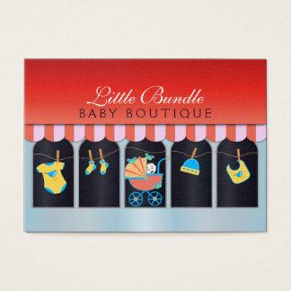 Baby Shop Storefront Babies Boutique Business Card