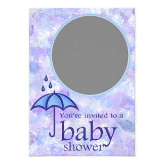 "Baby Shower 5"" X 7"" Invitation Card"