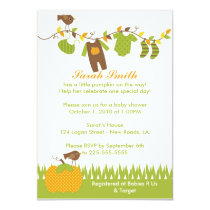 Baby Shower 5x7 Paper Invitation Card