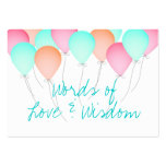 Baby Shower Advice Cards Business Card