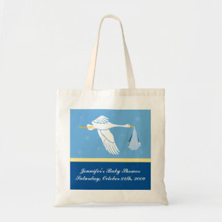 Baby Shower Bag - Blue and Yellow