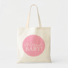 Baby Shower Bag | Welcome at Zazzle