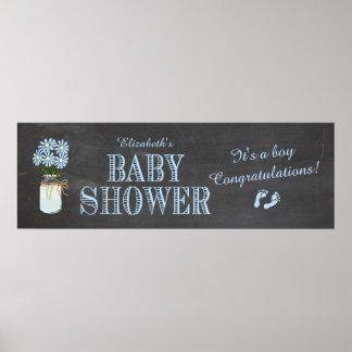 Baby Shower Banner Poster