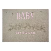 Baby Shower - Beach Theme Invitation