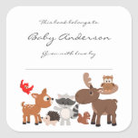 """Baby Shower bookplates / woodland animals<br><div class=""""desc"""">This woodland animal design can be found on many items in our shop.  Contact the designer if you cannot find the matching item(s) you need.</div>"""