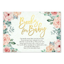 Baby Shower Books for Baby / Bring a book Request Invitation