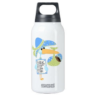 Baby Shower Bottle-works 32 oz Insulated Water Bottle