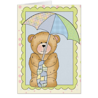 Baby Shower Boy Customizable Card