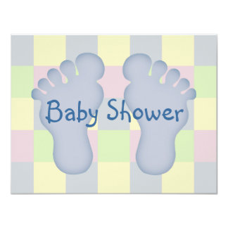 Baby Shower boy Personalized Invitation