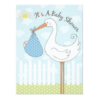 Baby Shower Boy Invitation