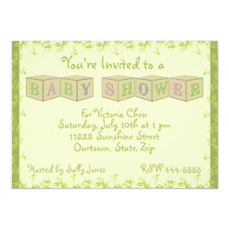 Baby Shower boy or girl Announcement